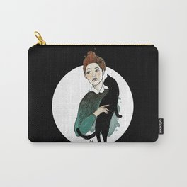 Round Madame Carry-All Pouch