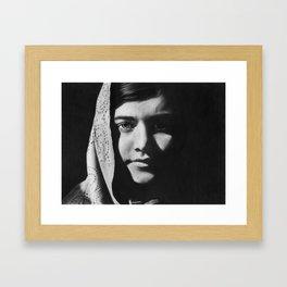 3: Rhinoceros Women Series Framed Art Print