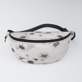 Japanese Shoji Flower Pattern Fanny Pack