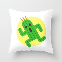 Final Fantasy - Cactuar Throw Pillow