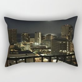 Full Moon over the Pacific Rectangular Pillow