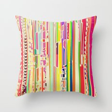Citric Acid Throw Pillow