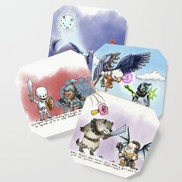 Doodles & Dragons - Mini Encounters Coaster