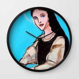 Patron Saint of Hope Wall Clock