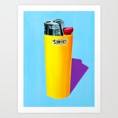 Bic. Art Print