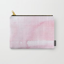 Pink watercolor // texture Carry-All Pouch