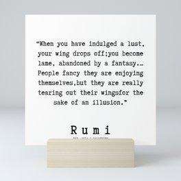 104    Rumi Quotes   190221 Mini Art Print