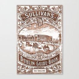 A Guide to Dublin Canvas Print