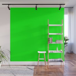 Neon Green Wall Mural