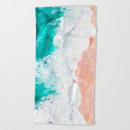 Beach Illustration Beach Towel