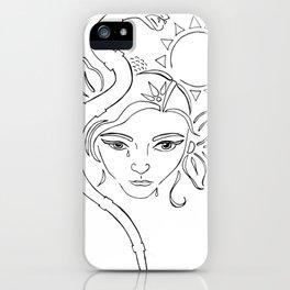 nodapl iPhone Case