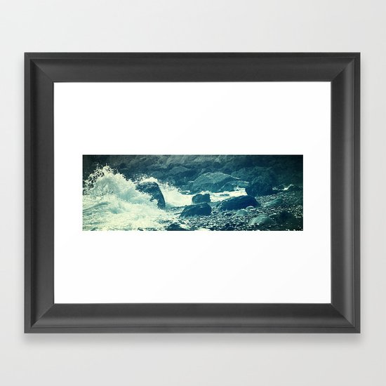The Sea I. Framed Art Print