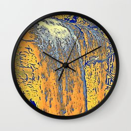 "series waterfall ""Cachoeira Grande"" II Wall Clock"