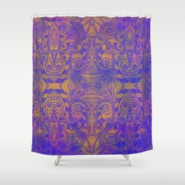 Ethnic Style G270 Shower Curtain