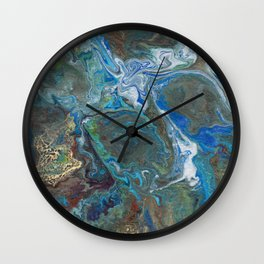 Abstract Oil Painting 17 Wall Clock