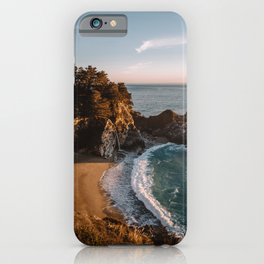 Mcway Falls at Sunset iPhone Case