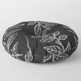 Mint Noire Floor Pillow