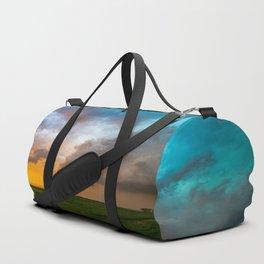 Glorious - Stormy Sky and Kansas Sunset Duffle Bag