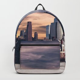Dramatic City Skyline - NYC Backpack