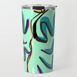 Drawing of abstraction Travel Mug