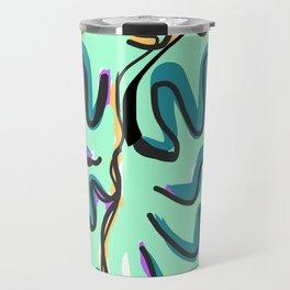 Drawing of abstraction Travel Mug