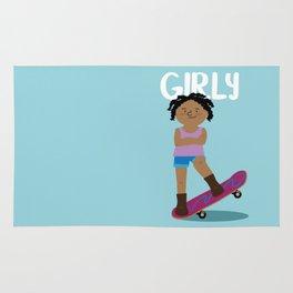 Positively Girly - Skater Rug