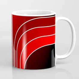 Red Bars Coffee Mug