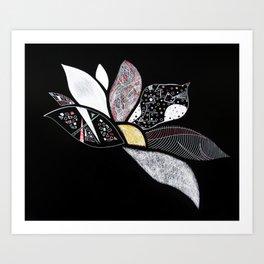 Faith in the Lotus Art Print