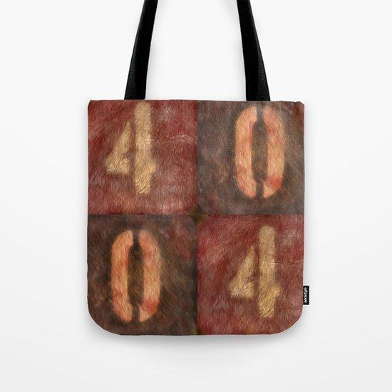 4004 Tote Bag