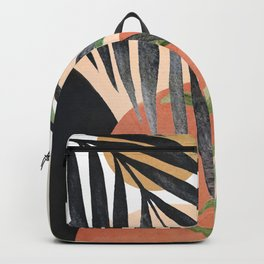 Abstract Tropical Art VI Backpack