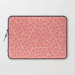 Grapefruit Slice Pattern Laptop Sleeve