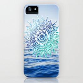 Sea Mandalla iPhone Case
