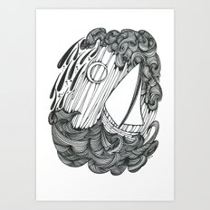 Leviathan and Lonely Art Print