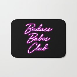 Badass Babes Club Bath Mat