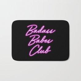 Badass Babes Club Bath Mat