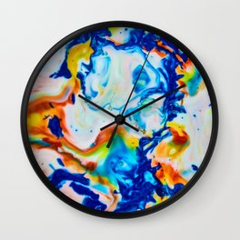 Milkblot No. 2 Wall Clock
