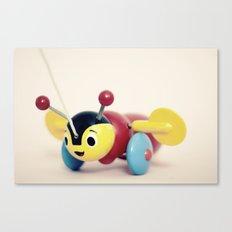 Buzzy Bee Canvas Print