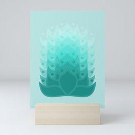 Lotus Sea Mini Art Print