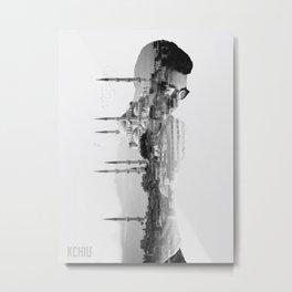 Istanbul Rising Metal Print