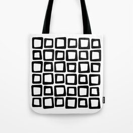 Mosaic - Black & White Tote Bag