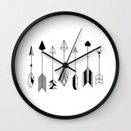Be Brave Little Arrow Wall Clock