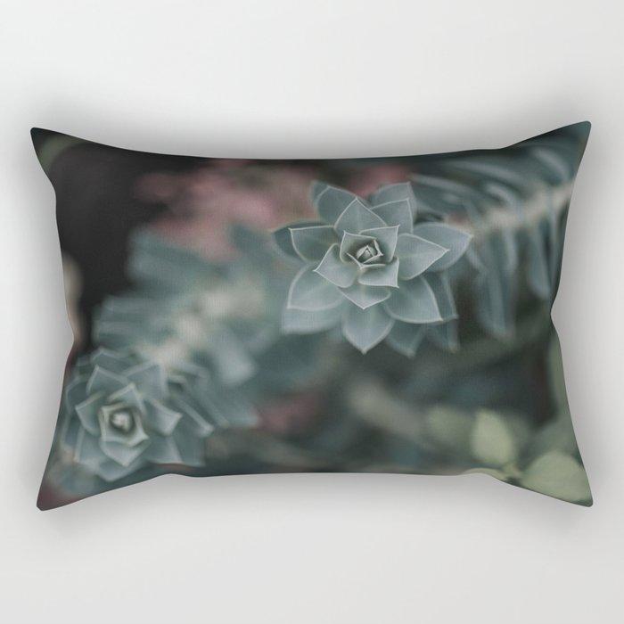 Succulents Rectangular Pillow
