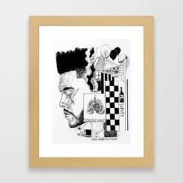 """Trilogy"" by Maurí Framed Art Print"