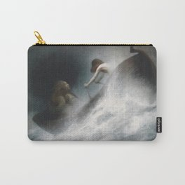 Karl Wilhelm Diefenbach - To the Rescue (1906) Carry-All Pouch