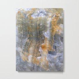 onix mineral Metal Print