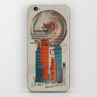 literary iPhone & iPod Skins featuring The Movie Version by Literary Mint