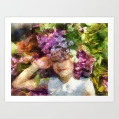 dreams about spring Art Print