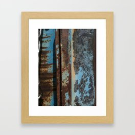 truck rust Framed Art Print