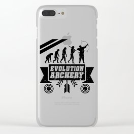 Evolution Archery Clear iPhone Case