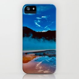 Radiant Geysers  iPhone Case